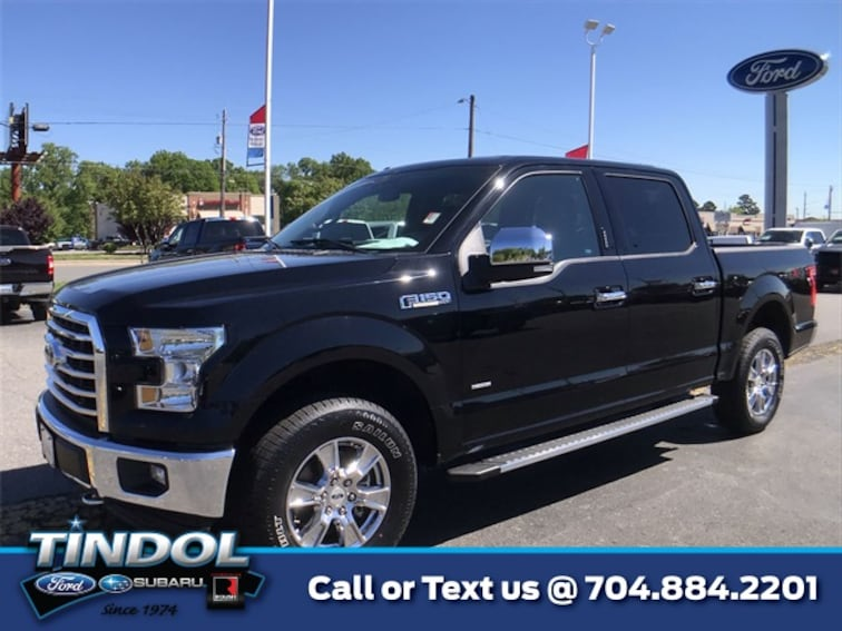 used 2017 Ford F-150 XLT Truck SuperCrew Cab 90512A in Gastonia, NC