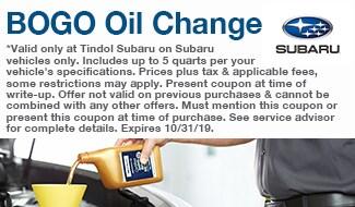 BOGO Oil Change