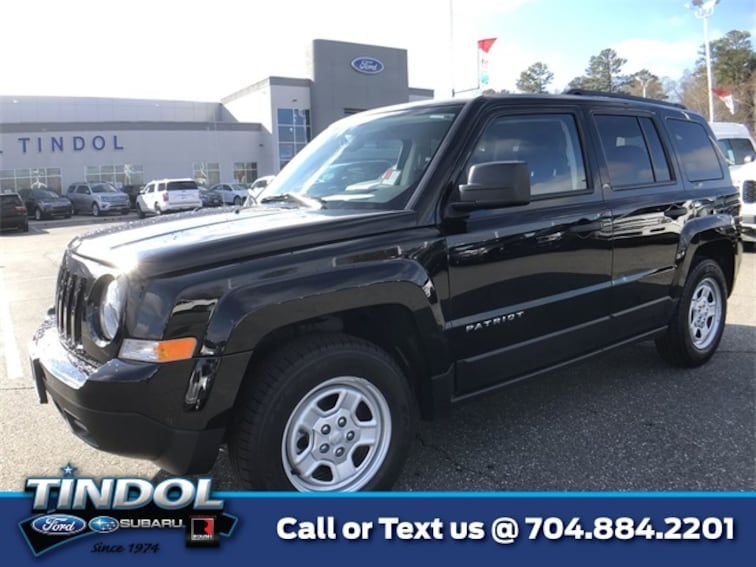 used 2016 Jeep Patriot Sport SUV 81337A in Gastonia, NC