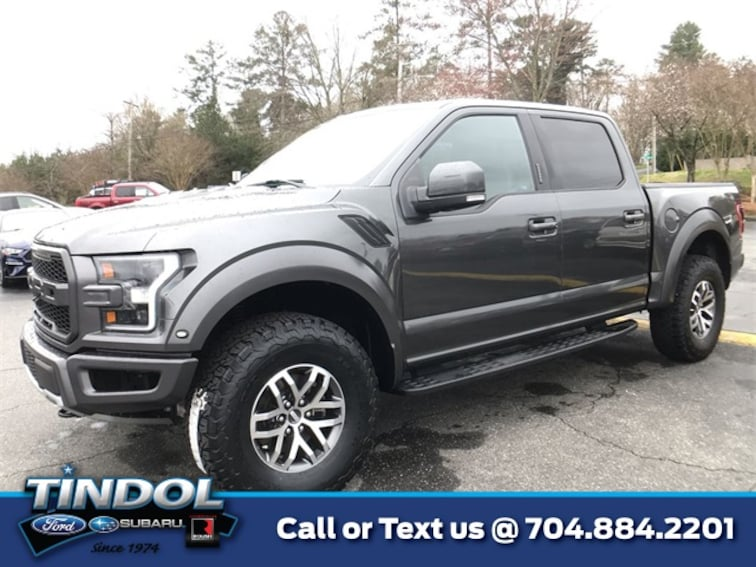 used 2017 Ford F-150 Raptor Truck SuperCrew Cab 81445A in Gastonia, NC