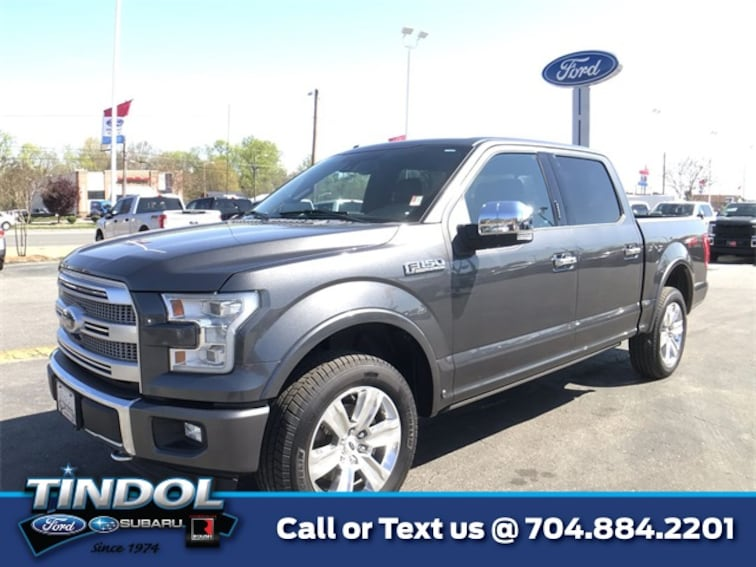 used 2015 Ford F-150 Platinum Truck SuperCrew Cab 90482A in Gastonia, NC