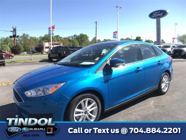 used 2015 Ford Focus SE Sedan 90099B in Gastonia, NC