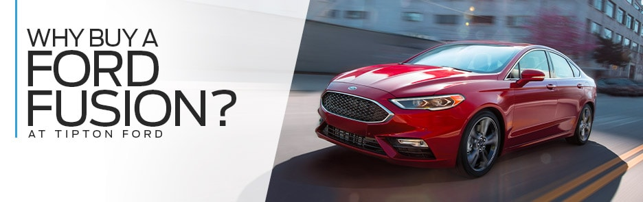 Tipton Ford | Why Buy 2019 Ford Fusion | Brownsville, TX