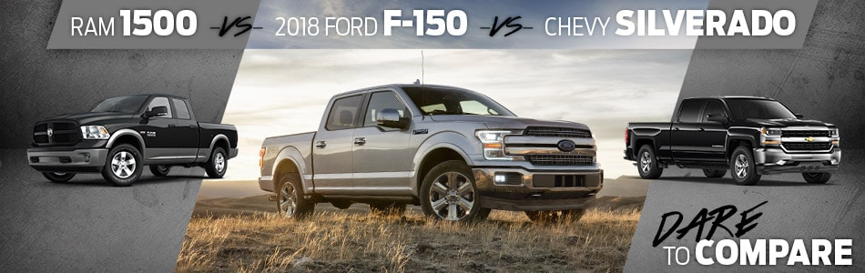 Tipton Ford | Dare To Compare | 2018 F-150