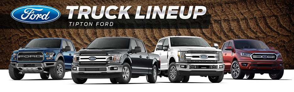 Tipton Ford | 2019 Ford Truck Lineup | Brownsville, TX