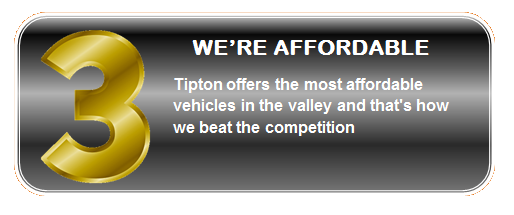 We're Affordable | Tipton Ford | Brownsville, TX