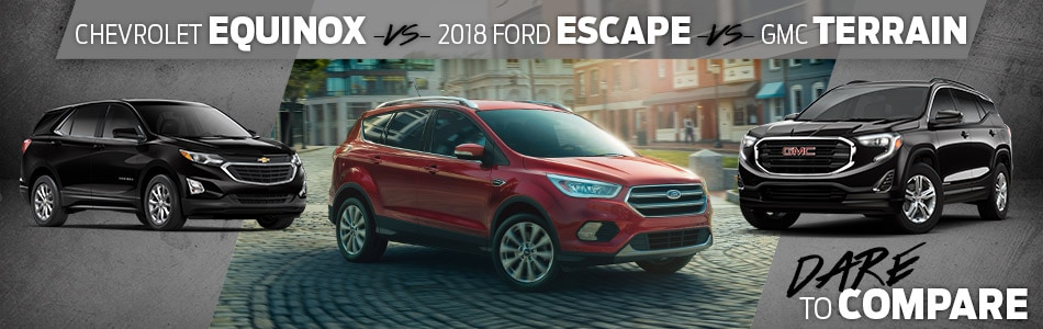 Tipton Ford | Dare To Compare | 2018 Ford Escape