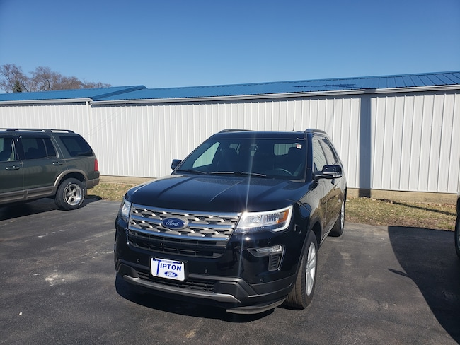 2018 Ford Explorer XLT 4X4 w/leather & sunroof SUV
