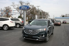 2019 Ford Edge Titanium AWD w/leather, sunroof & navigation Crossover