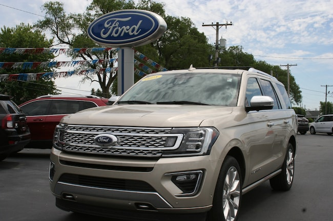 2018 Ford Expedition Platinum 4X4 w/leather, sunroof, & navigation SUV