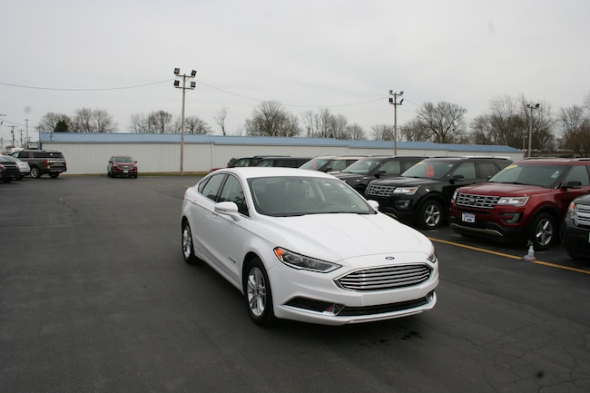2018 Ford Fusion Hybrid SE FWD w/leather Sedan