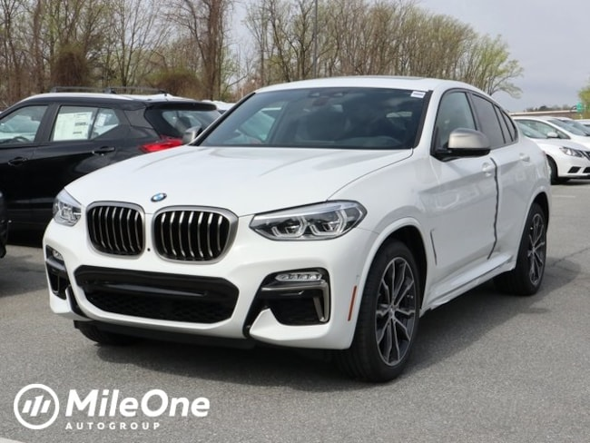 New 2019 BMW X4 M40i Sports Activity Coupe in Silver Spring
