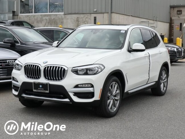 New 2019 BMW X3 xDrive30i SAV in Silver Spring