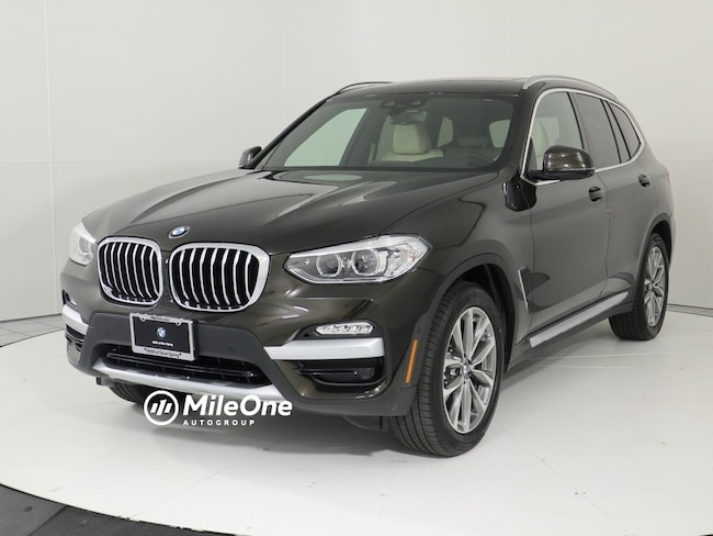 New 2019 BMW X3 xDrive30i SUV in Silver Spring