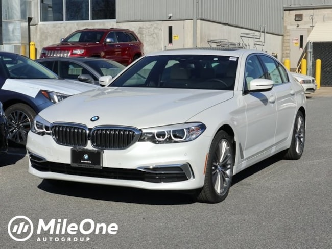 New 2019 BMW 5 Series 540i Sedan in Silver Spring