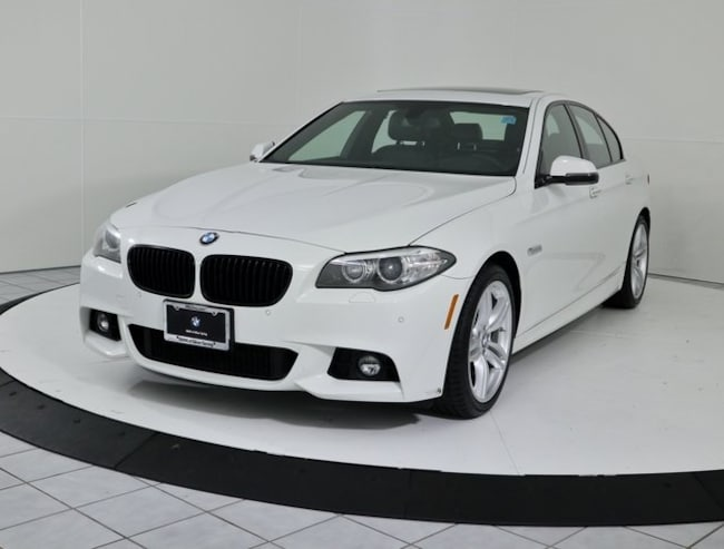 Certified Pre-Owned 2016 BMW 5 Series 535i xDrive Sedan in Silver Spring