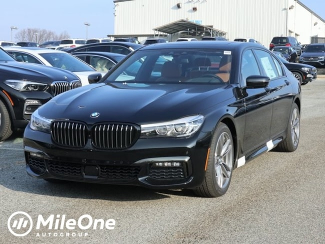 New 2019 BMW 7 Series 740i Sedan in Silver Spring
