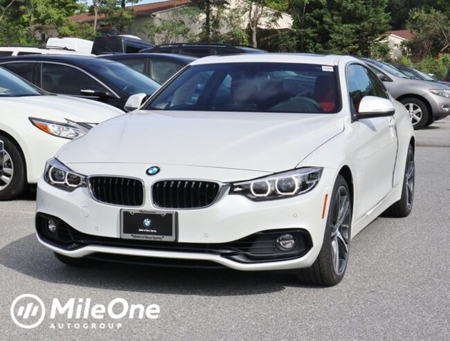 New 2019 BMW 440i xDrive Coupe in Silver Spring