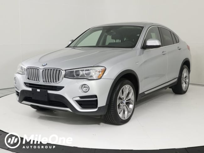 Certified Pre-Owned 2016 BMW X4 xDrive28i SUV in Silver Spring