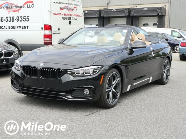 New 2020 BMW 430i i Convertible in Silver Spring