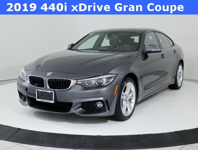Certified Pre-Owned 2019 BMW 4 Series 440i xDrive Gran Coupe Hatchback in Silver Spring