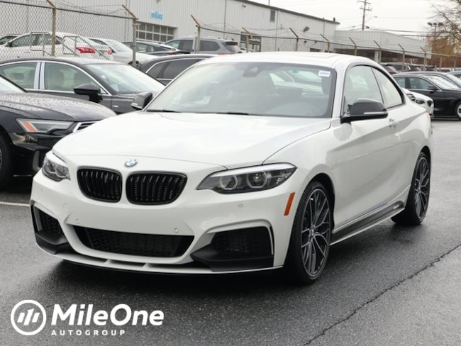 New 2019 BMW 2 Series M240i Xdrive Coupe in Silver Spring