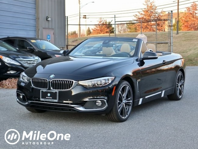 New 2019 BMW 4 Series 440i Xdrive Convertible in Silver Spring