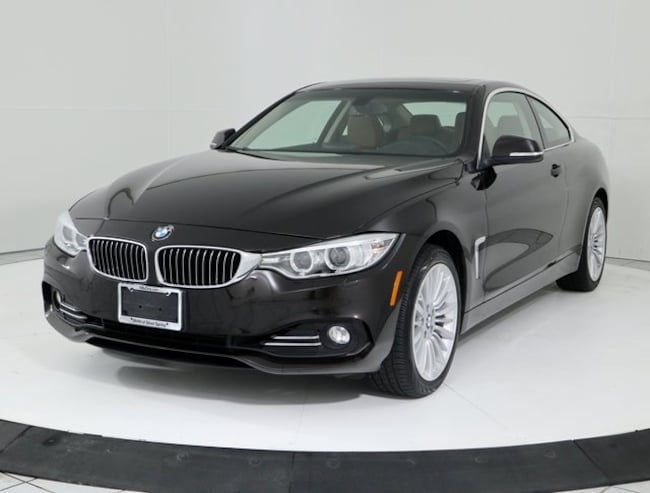 Certified Pre-Owned 2015 BMW 4 Series 428i Xdrive Coupe in Silver Spring