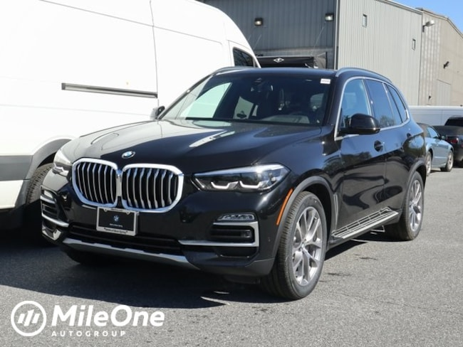 New 2019 BMW X5 xDrive40i SUV in Silver Spring