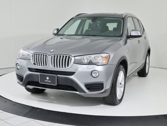 Certified Pre-Owned 2017 BMW X3 xDrive28i SUV in Silver Spring