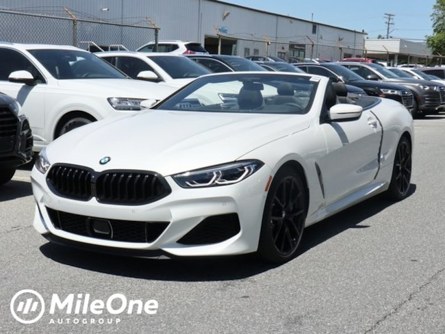 New 2019 BMW M850i xDrive Convertible in Silver Spring