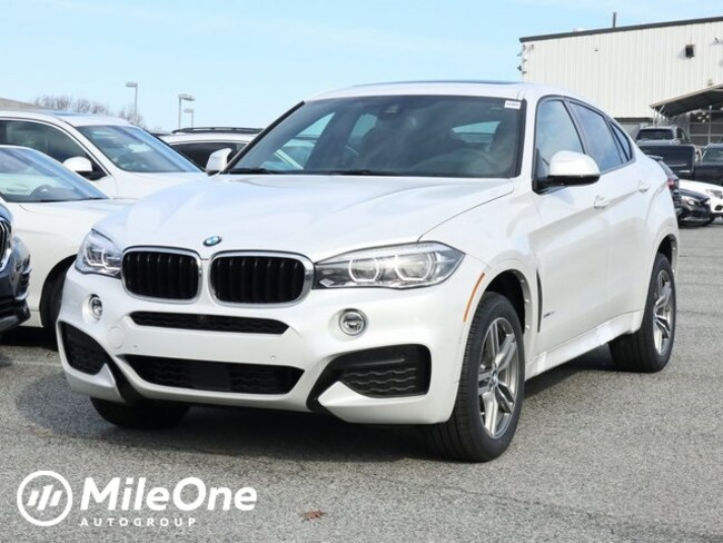 New 2019 BMW X6 Xdrive35i SUV in Silver Spring