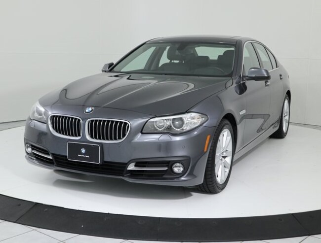 Certified Pre-Owned 2016 BMW 5 Series 535i xDrive Sedan in Silver Spring