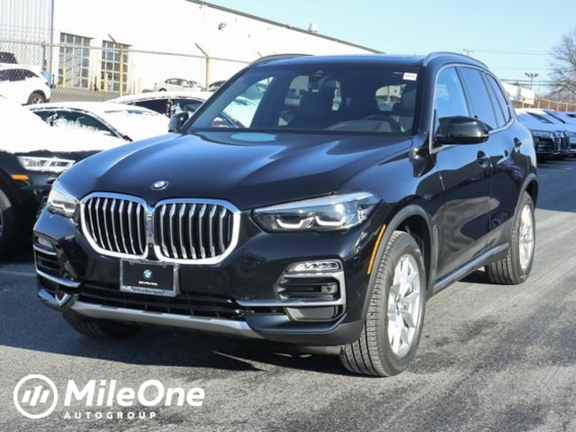 New 2019 BMW X5 xDrive40i SAV in Silver Spring