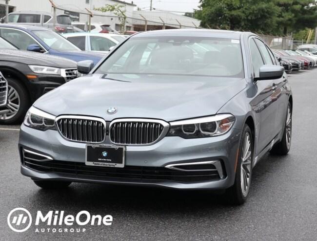 New 2019 BMW 530e xDrive iPerformance Sedan in Silver Spring