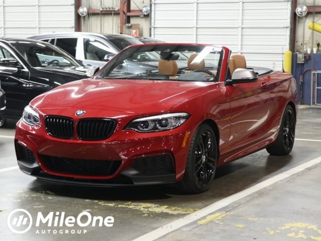 New 2019 BMW M240i M240i Convertible in Silver Spring