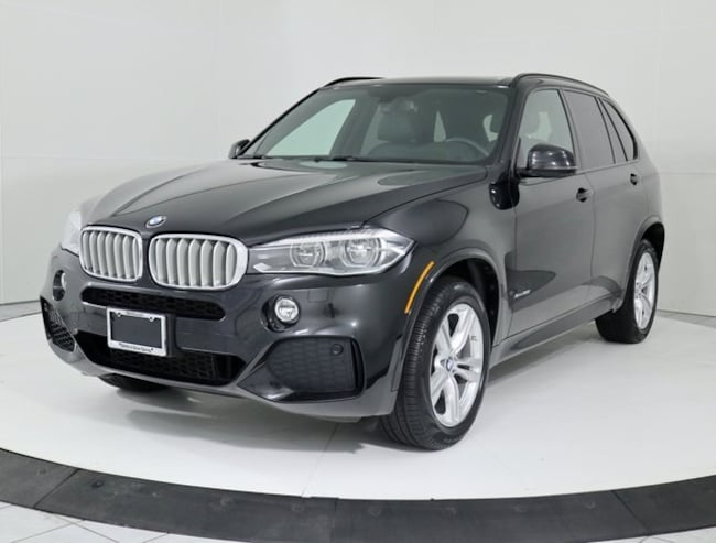 Certified Pre-Owned 2015 BMW X5 xDrive50i SUV in Silver Spring