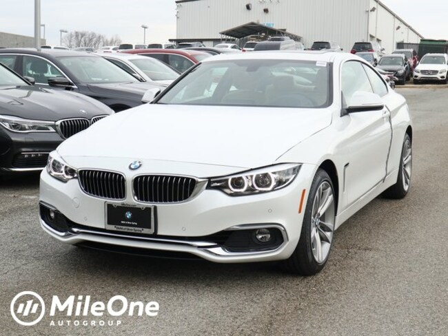 New 2019 BMW 4 Series 430i Xdrive Coupe in Silver Spring
