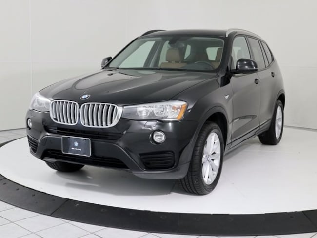 Certified Pre-Owned 2016 BMW X3 xDrive28i SUV in Silver Spring