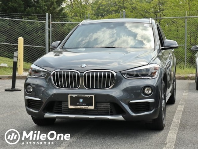 New 2019 BMW X1 xDrive28i SUV in Silver Spring