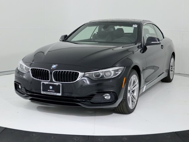 New 2019 BMW 4 Series 430i xDrive Convertible in Silver Spring