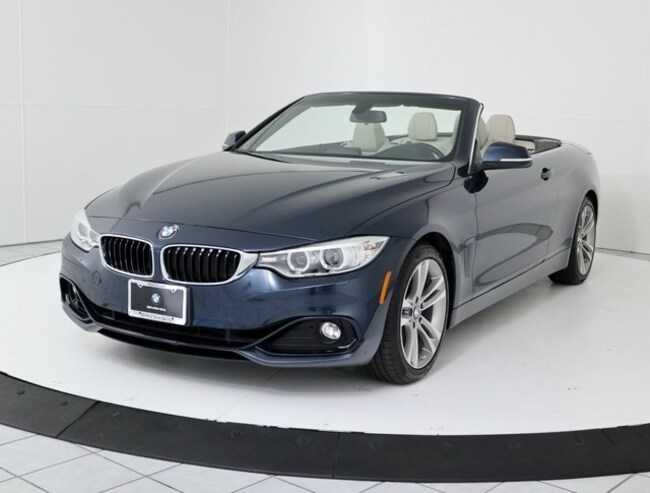 Certified Pre-Owned 2016 BMW 4 Series 428i Convertible in Silver Spring