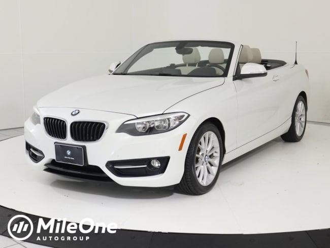 Used 2016 BMW 2 Series 228i xDrive Convertible in Silver Spring