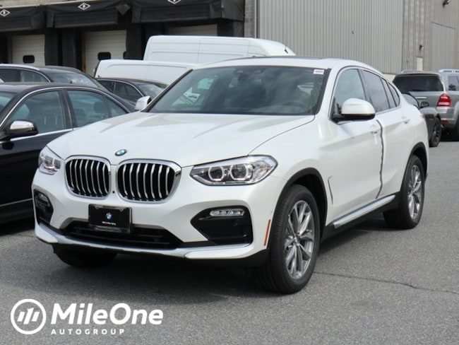 New 2019 BMW X4 xDrive30i Sports Activity Coupe in Silver Spring