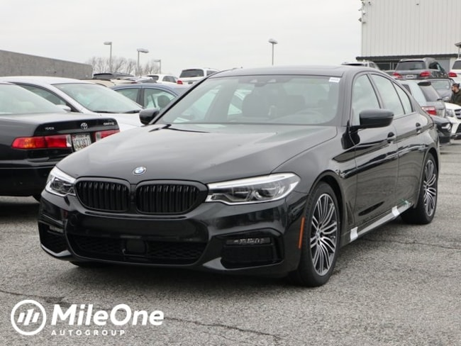 New 2019 BMW 5 Series 540i Xdrive Sedan in Silver Spring