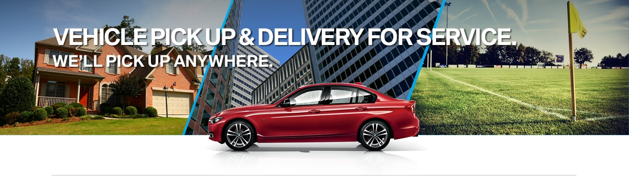 Vehicle Pick Up Delivery For Service Service Valet Bmw Of