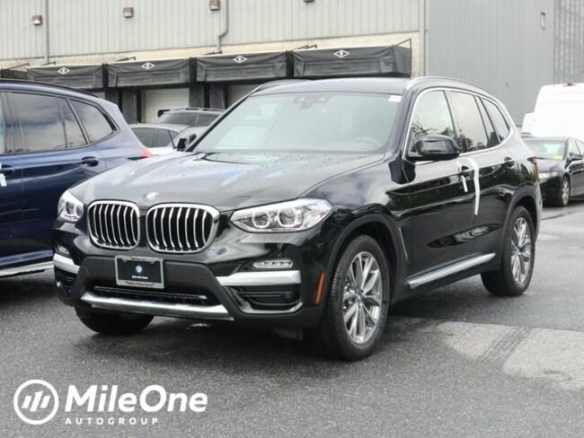 New 2019 BMW X3 xDrive30i SAV in Silver Spring