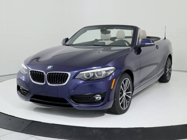 New 2019 BMW 2 Series 230i Xdrive Convertible in Silver Spring