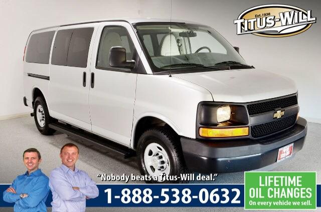 2010 Chevrolet Express 2500 LS Van Passenger Van