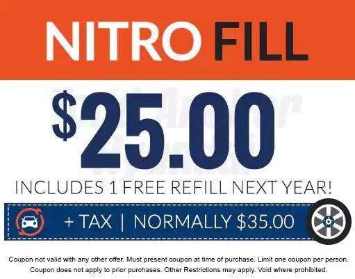 Nitrogen Fill Special